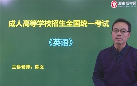 英语-成人高考高达专/高达本/專升本-试听课程